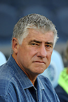 Sigi Schmid Head Coach Seattle Sounders.. Sporting Kansas City were defeated 1-2 by Seattle Sounders at LIVESTRONG Sporting Park, Kansas City, Kansas.
