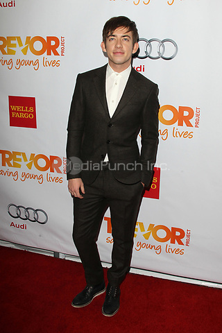 LOS ANGELES, CA - DECEMBER 02: Kevin McHale at 'Trevor Live' honoring Katy Perry and Audi of America for The Trevor Project held at The Hollywood Palladium on December 2, 2012 in Los Angeles, California. Credit: mpi21/MediaPunch Inc.