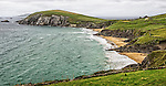 A view of the coast of the Dingle Peninsula, County Kerry, Ireland