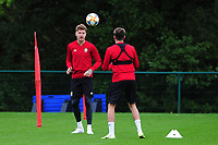 Joe Rodon of Wales during the Wales Training Session at The Vale Resort in Cardiff, Wales, UK. Monday 07 October 2019