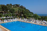 Italien, Ischia, Therme Parco Thermale in Castiglione