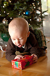 Baby boy first christmas present