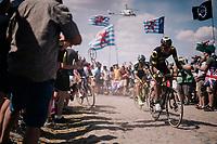 on pavé sector #4<br /> <br /> Stage 9: Arras Citadelle > Roubaix (154km)<br /> <br /> 105th Tour de France 2018<br /> ©kramon
