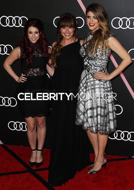 LOS ANGELES, CA - JANUARY 09: Jillian Rose Reed, Nikki DeLoach, Molly Tarlov at the Audi Golden Globe Awards 2014 Cocktail Party held at Cecconi's Restaurant on January 9, 2014 in Los Angeles, California. (Photo by Xavier Collin/Celebrity Monitor)