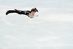 Yakov Godorozha of Ukraine compete in the Short Program Men during the 2014 Sochi Olympic Winter Games at Iceberg Skating Palace on February 6, 2014 in Sochi, Russia. Photo by Victor Fraile / Power Sport Images