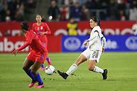 CARSON, CA - FEBRUARY 7: Kiana Palacios #8 of Mexico during a game between Mexico and USWNT at Dignity Health Sports Park on February 7, 2020 in Carson, California.