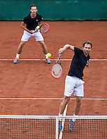 The Hague, Netherlands, 28 July, 2016, Tennis,  The Hague Open, Doubles: Wesley Koolhof / Matwe Middelkoop (NED) (R)<br /> Photo: Henk Koster/tennisimages.com