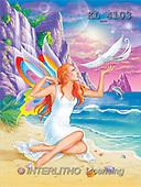 Interlitho, Lorella, FANTASY, paintings, elf, paradise, KL, KL4103,#fantasy# illustrations, pinturas