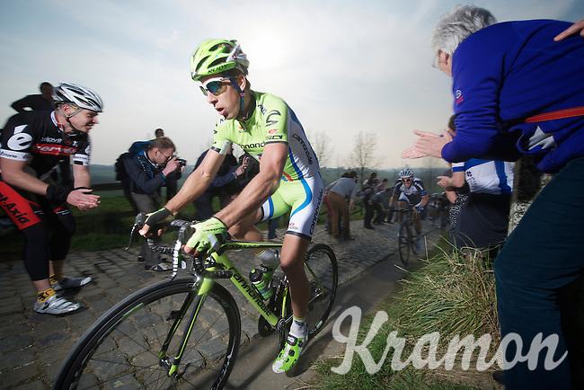 Peter Sagan (SVK/Cannondale) up the Paterberg (max 20%)<br /> <br /> 57th E3 Harelbeke 2014