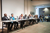 Washington DC, USA. Chico Vive conference, 4th April 2014. Introduction of speakers and panellists.