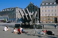 auf dem Platz Sankt Hans Torv  Kopenhagen, Daenemark