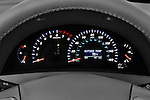 Instrument panel close up detail view of a 2008 Toyota Camry XLE