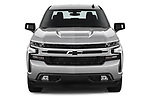 Car photography straight front view of a 2019 Chevrolet Silverado-1500 RST 4 Door Pick-up Front View