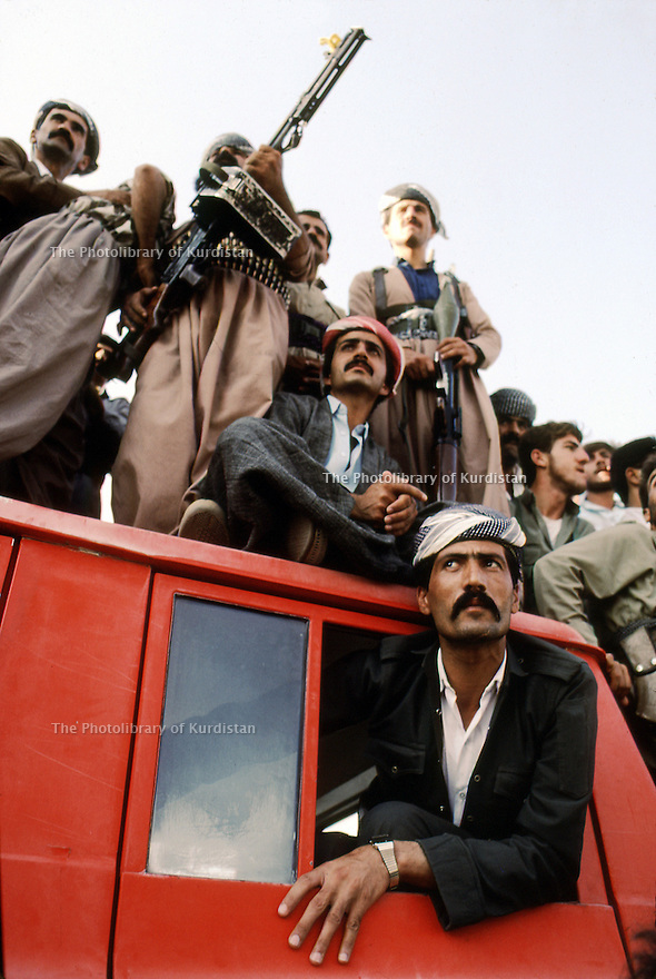 Irak 1991    Fête du PDK   Iraq 1991  Celebration of the 45th anniversary of KDP