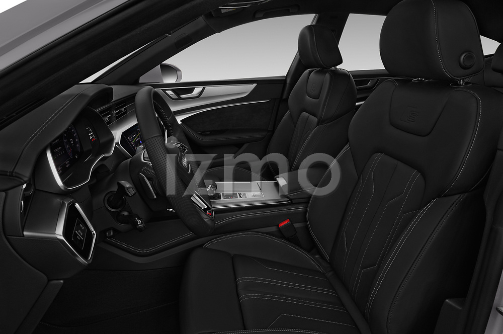 Front seat view of a 2018 Audi A7 Sportback S Line 5 Door Hatchback front seat car photos