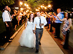The wedding ceremony of Stacey and Jeremy DeLuca at Pack's Tavern in downtown Asheville, NC July 10, 2015