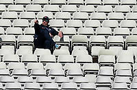 England batting coach Marcus Trescothick watches the action during Warwickshire CCC vs Essex CCC, LV Insurance County Championship Group 1 Cricket at Edgbaston Stadium on 22nd April 2021