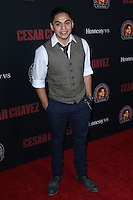 """HOLLYWOOD, LOS ANGELES, CA, USA - MARCH 20: Maynard Alvardo at the Los Angeles Premiere Of Pantelion Films And Participant Media's """"Cesar Chavez"""" held at TCL Chinese Theatre on March 20, 2014 in Hollywood, Los Angeles, California, United States. (Photo by David Acosta/Celebrity Monitor)"""