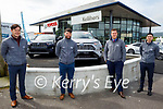 Keliher's Toyota Tralee sales team, l to r: Tommy Hayes, Cian Molloy, Jack Watkinson and Niall Sheehan.