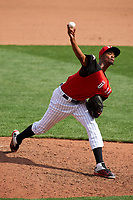 Team USA pitcher Carl Edwards Jr. (11) in action during the MLB All-Star Futures Game on July 12, 2015 at Great American Ball Park in Cincinnati, Ohio.  (Mike Janes/Four Seam Images)