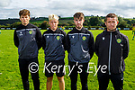 Kerry U14 Kennedy Cup Management team is Brian O'Regan, Seb Vassiu, Tony Duggan and Billy Stack (Manager)