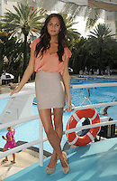SMG_EXC_Chrissy Teigen_Pool_071511_05.JPG_EXCLUSIVE COVERAGE<br /> <br /> MIAMI BEACH, FL - JULY 14: (EXCLUSIVE COVERAGE)   John Legend's girlfriend, supermodel Chrissy Teigen poses poolside at The Raleigh Hotel.  Christine Teigen (born November 30, 1985), also known as Chrissy Teigen, is an American model of Thai-Norwegian ancestry. She made her rookie debut in the annual Sports Illustrated Swimsuit Issue in 2010. She is from the small town of Snohomish, Washington. On July 14, 2011 in Miami Beach, Florida,  (Photo By Storms Media Group)<br />  <br /> People:   Chrissy Teigen<br /> <br /> Must call if interested<br /> Michael Storms<br /> Storms Media Group Inc.<br /> 305-632-3400 - Cell<br /> 305-513-5783 - Fax<br /> MikeStorm@aol.com