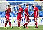St Johnstone v Aberdeen…01.07.17  McDiarmid Park     Pre-Season Friendly <br />Bruce Anderson celebrates scoring Aberdeen's third goal<br />Picture by Graeme Hart.<br />Copyright Perthshire Picture Agency<br />Tel: 01738 623350  Mobile: 07990 594431
