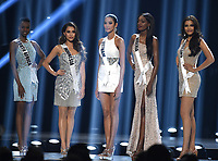 ATLANTA, GA - DECEMBER 8: 2019 MISS UNIVERSE: Contestants appear on the 2019 MISS UNIVERSE competition airing LIVE onSunday, Dec. 8(7:00-10:00 PM ET live/PT tape-delayed) on FOX. (Photo by Frank Micelotta/FOX/PictureGroup)
