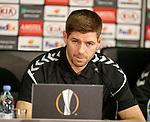 07.11.18 Rangers training at the Spartak Stadium, Moscow: Steven Gerrard