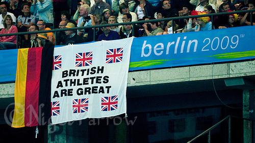 21 AUG 2009 - BERLIN, GER - World Athletics Championships (PHOTO (C) NIGEL FARROW)