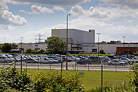 Pictured: The Ford engine plant in Bridgend, Wales, UK. Thursday 06 June 2019<br /> Re: An announcement on the proposed closure of Ford's Bridgend plant will be made today (Thursday).<br /> Ford Europe and bosses from the United States will meet union leaders at its Essex headquarters.<br /> The plant employs 1,700 workers from across south Wales.