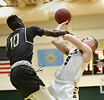 January 17, 2020; Lead, SD USA; UC Colorado Springs at Black Hills State basketball. (Photo by Richard Carlson)
