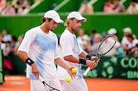 7-3-09,Argentina, Buenos Aires, Daviscup  Argentina-Netherlands,  De dubbel Vassalo en Arnold Ker