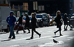 NEWS-Cold weather leading to record-low for November affects NYC
