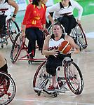 Tracey Ferguson, Rio 2016 - Wheelchair Basketball // Basketball en fauteuil roulant.<br /> Canada vs. China in women's Wheelchair Basketball  // Le Canada contre la Chine en  basketball en fauteuil roulant féminin . 16/09/2016.