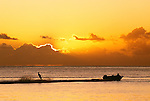 Sunset, Indian Ocean, Mauritius