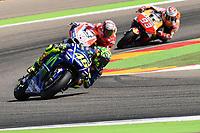 Aragon 24-09-2017 Moto Gp Spain photo Luca Gambuti/Image Sport/Insidefoto <br /> nella foto: Valentino Rossi