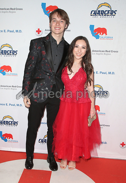 09 March 2018 - Los Angeles, California - C.J. Valleroy, Ava Cantrell. American Red Cross Annual Humanitarian Celebration Honoring The LA Chargers at the Skirball Cultural Center. Photo Credit: F. Sadou/AdMedia