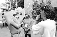 Montreal (Qc) CANADA - July 1992 File Photo - Juste Pour Rire Festival - - Dominique Michel