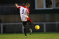 Reiss Noel scores the second goal for Hornchurch - AFC Hornchurch vs Aveley - Ryman League Premier Division Football at The Stadium - 17/12/11 - MANDATORY CREDIT: Gavin Ellis/TGSPHOTO - Self billing applies where appropriate - 0845 094 6026 - contact@tgsphoto.co.uk - NO UNPAID USE