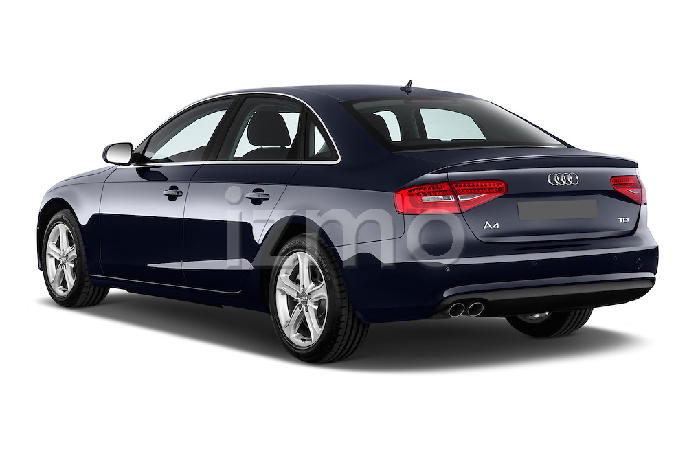 Rear three quarter view of a 2014 Audi A4 AMBITION LUXE 4 Door Sedan 2WD