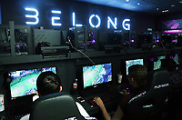 Gamers in the Belong arena
