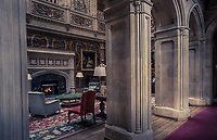 The baronial hall at Highclere Castle