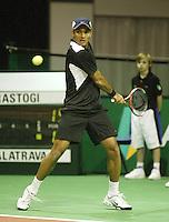 18-2-06, Netherlands, tennis, Rotterdam, ABNAMROWTT, Qualifying round, Karan Rastrogi