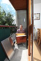 Mister Nicolas Geant in his Paris apartment