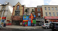 WORDS BY KARL WEST<br />Pictured: A mixture of occupied and disused buildings Friday 30 September 2016<br />Re: The regeneration of the High Street in Swansea, Wales, UK