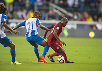 San Jose, Ca - Friday March 24, 2017: Darlington Nagbe during the USA Men's National Team defeat of Honduras 6-0 during their 2018 FIFA World Cup Qualifying Hexagonal match at Avaya Stadium.