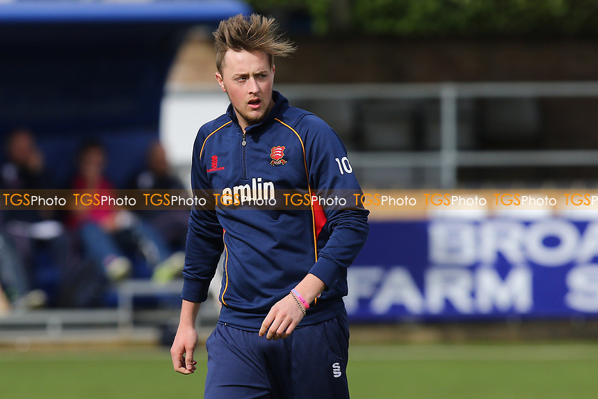 Ollie Robinson of Essex during Essex CCC vs Middlesex CCC, T20 Pre-Season Friendly Cricket at the Essex County Ground on 26th March 2015