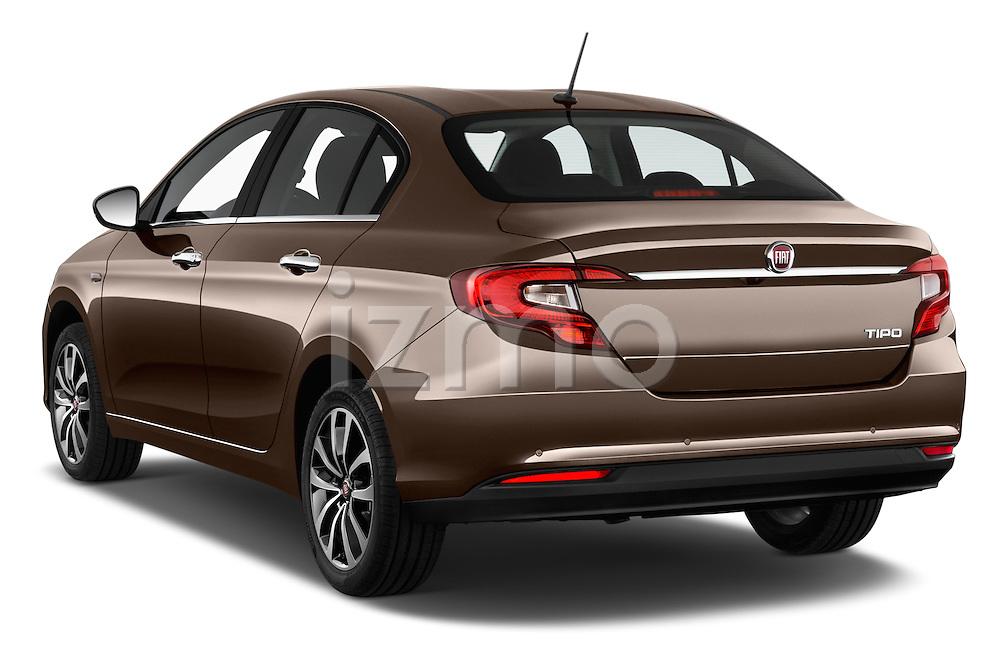 Car pictures of rear three quarter view of 2016 Fiat Tipo Easy 4 Door Sedan Angular Rear