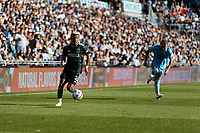 ST PAUL, MN - AUGUST 14: Julian Araujo #2 of the Los Angeles Galaxy during a game between Los Angeles Galaxy and Minnesota United FC at Allianz Field on August 14, 2021 in St Paul, Minnesota.